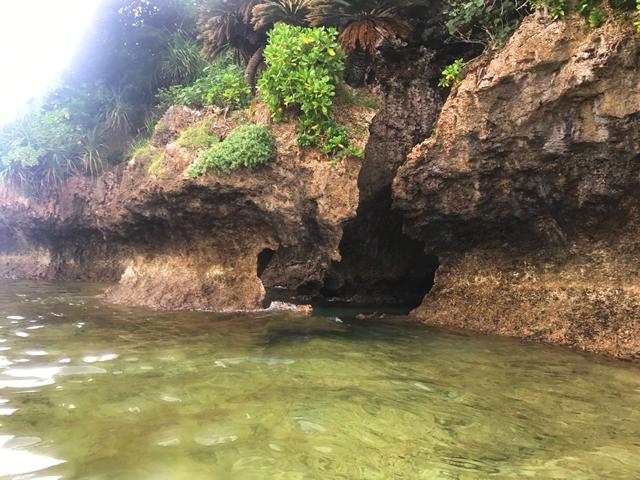 青の洞窟シュノーケル+荒川の滝トレッキングコース写真05